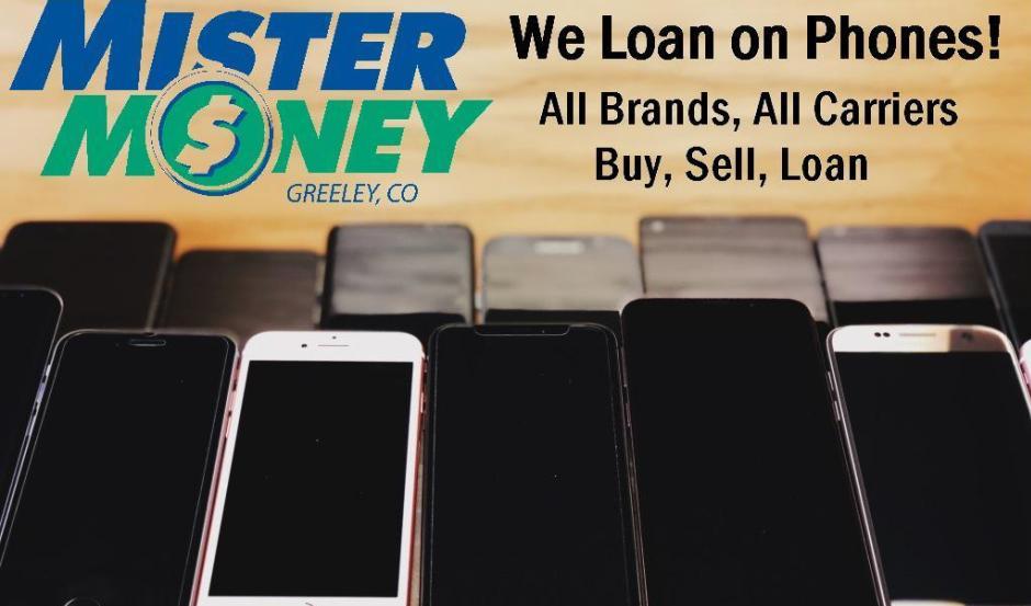 Mister Money logo phones